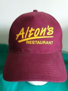 ALTONS RESTAURANT Employee Ball Cap Hat Strapback West Seneca NY