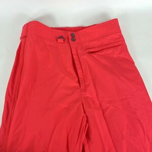 Tyrolia By Head Mens Pink/Red Snow Pants Size US Large