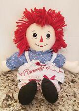 """Raggedy Ann Classic Doll By Aurora 17"""" Plush Stuffed Toy"""