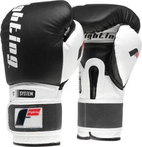 Fighting Sports S2 Gel Boxing Power Training Gloves - Black/White