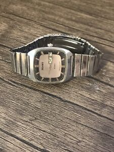 Poljot Automatic 23 Jewels Soviet Mechanical Vintage Wrist Watch Square