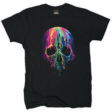 Wolkenbruch® T-Shirt Schmelzender Totenkopf Melting Skull Gr.M-XXXXXL