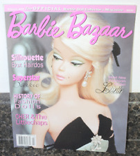 Vintage February 2001 Issue Of Barbie Bazaar Dolls Many Listed!