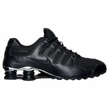 Nike Shox NZ Premium  (536184-001) Black/Chrome Mens Sz 8