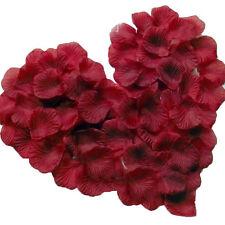 600pcs Silk Rose Flower Petals Leaves Wedding Party Table Confetti Decorations