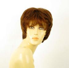wig for women 100% natural hair blond copper ESTELLE 30 PERUK