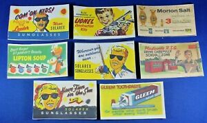 Plasticville - O/S Scale Billboard Inserts - 8 Signs - Reproductions