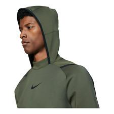Nike Pro Herren Pullover Fleece Kapuze Training Dri-Fit Kängurutasche Größe XL
