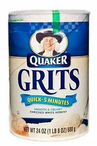 Quaker Quick Grits, 5 Minute Recipe, 24 Ounce (Pack Of 3)