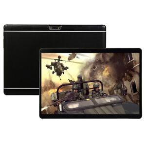 "Negro 10.1"" Tableta Android 9.0 8G+128GB WiFi WLAN 2 Cámara Tablet PC"