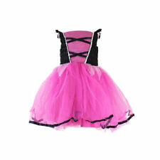 Kids Girls Princess Dress Up Fancy Costume Party Cosplay Clothes Halloween