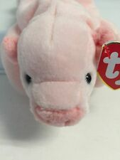 New Ty Beanie Babies ~SQUEALER the PIG cute baby  NWT RT errors