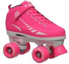 Kids Epic Galaxy Elite Neon Pink Girls Indoor Outdoor Quad Roller Skates