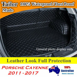 Customized Full coverage Waterproof Boot liner mats for Porsche Cayenne 11 - 17