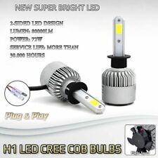 Pair Bulbs H1 Fog Light Bright LED Canbus White 6500K For MG ZR ZS ZT 2001-2005