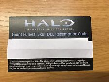HALO Master Chief Collection * Grant Funeral Skull Xbox Live DLC Download Code