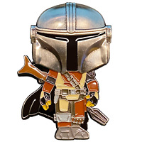Star Wars Mandalorian inspired Guy with The Child Thin Gray Line Correctional Of