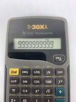 Texas Instrument TI-30XA Scientific Calculator Algebra Geometry