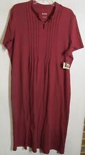 Blair women size XL Dark Purple Dress short sleeve casual NWOT Lot#16