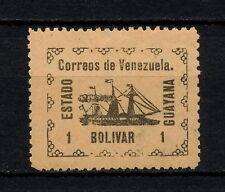 (YYAC 453) Venezuela 1903 MLH ESTADO GUAYANA GUYANA Ship