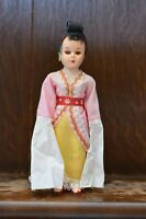 Fabulous VINTAGE Costume Doll of a Japanese Geisha Lady - 19cm Tall