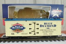 USA TRAIN (R-16004) BLUE DIAMOND SMOKEHOUSE ALMONDS / WOODEN BILLBOARD REEFER