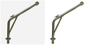 Stainless Steel Pair Marine Davits 120kg Dinghy Launching Pivoting Boat yacht