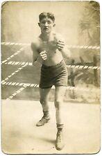Card Photo. Sport. Boxe. Boxing. Boxeur. Photo Card