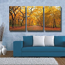 Large Modern Contemporary Wall Art 3-Piece Set Oil On Canvas Unframed Abstract
