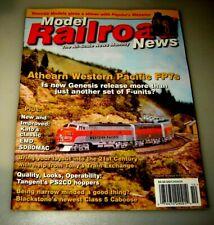 OCTOBER 2010 VINTAGE MODEL RAILROAD NEWS MAGAZINE MODEL RAILROADING TRAINS