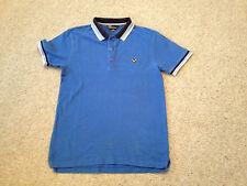 Voi Jeans Short Sleeved Polo Shirt Blue Adult Medium (M)
