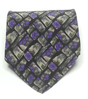 "J. Garcia Men Silk Dress Tie Van Gouh's Tree Collection 3.75"" wide 57"" long USA"