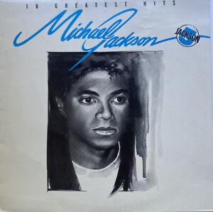 Michael Jackson 18 Greatest Hits Plus The Jackson 5 Vinyl Record LP
