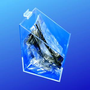 Slatwall Box Bin 6x6x6