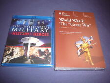 Teaching Co Great Courses  DVDs  :    WORLD WAR I   Great War       new + BONUS