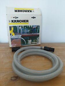 Karcher 3m Suction Hose with Non-return Valve, BNinB. Use With K3, K4, K5, K6,K7