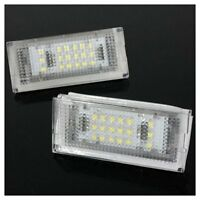 2x 18 LED Luz de matricula de licencia para E46 4DR Sedan 325i 328i 99-03 B A3D8