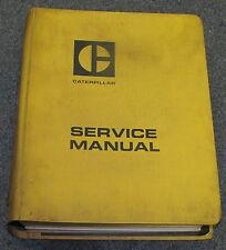 Caterpillar Cat 621 J621 Tractor Scrapper Service Manual 9A 15U 23H 37G 40G 41G