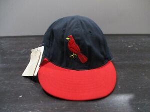 VINTAGE St Louis Cardinals Hat Cap Fitted Mens 7 1/4 Blue Roman Wool Mens