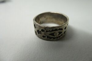 VINTAGE 925 STERLING SILVER HAND CRAFTED RING