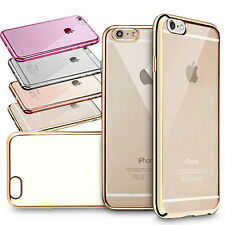 GENUINE ShockProof Silicone Bumper Clear Slim Case Cover For IPhone 6 plus 6+
