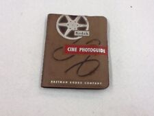 Kodak Cine Photoguide Published 1952.  Great Movie Making Guide Book #EA200