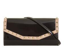 Ladies Patent Studded Clutch Bag Glossy Evening Bag Cocktail Bag Handbag KL875