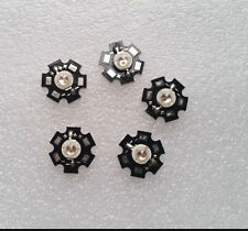 5PCS 5W Deep Red High Power 660~665NM Plant Grow LED Emitter with 20mm Star Base