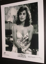CATHERINE MARY STEWART / WEEKEND AT BERNIE'S  / GREAT AUTOGRAPHED B&W PHOTO