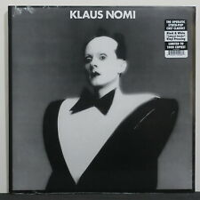 KLAUS NOMI Ltd. Edition 'Caberet Smoke' BLACK/WHITE Vinyl LP NEW/SEALED