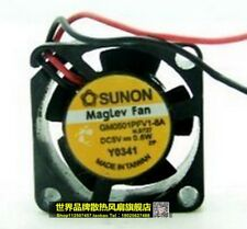 SUNON ROUND MAGLEV ELECTRONICS COOLING FANS 5V .6W GM0501PFV1-8A 22MM