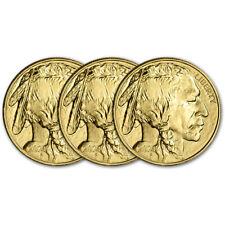 2020 American Gold Buffalo 1 oz $50 - BU - Three 3 Coins