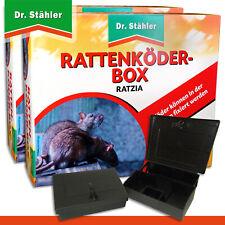 Dr.Stähler 2 X Rattenköder-box Noir Ratzia