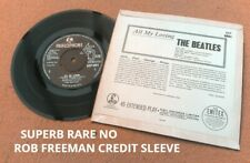 "BEATLES "" ALL MY LOVING ""SUPER UK RARE NO ROB FREEMAN CREDIT ERROR & NO SIUK EP"